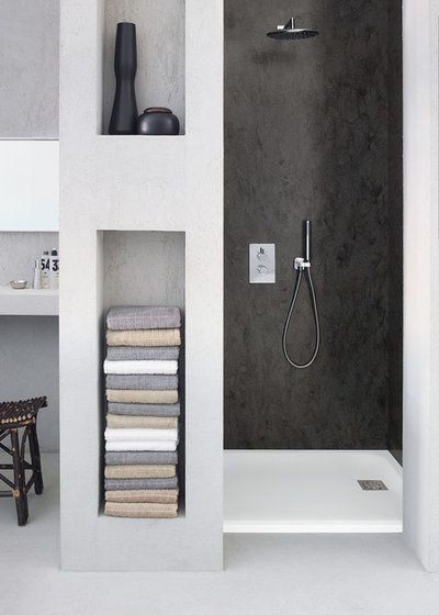 Popular Modern Bathroom by Corian Design UK