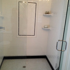 Traditional Bathroom by Chris Merenda-Axtell Interior Design