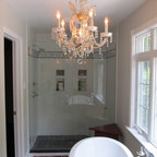 Very Small Master Bath - Conversion from 1/2 Bath ...