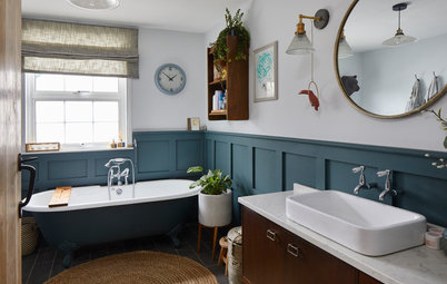 24 Ideas for Using Panelling in Your Bathroom