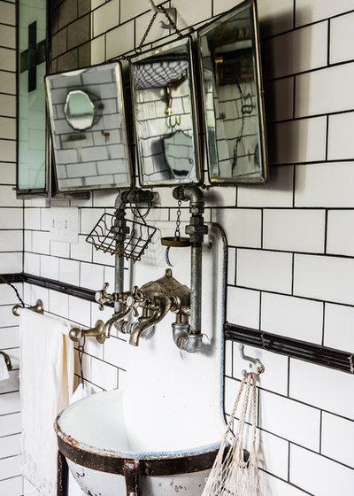 Houzz Tips: Sådan får du opdateret dit gamle badeværelse : badrum eklektisk : Badrum