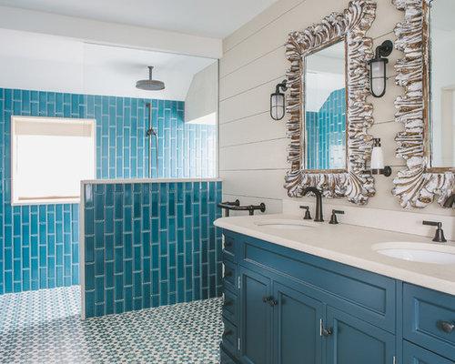 Piastrelle bagno blu mare fabulous piastrelle blu guarda le