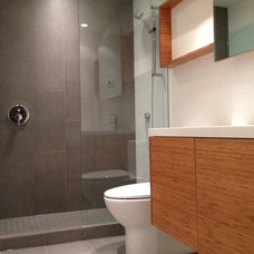 Contemporary Bathroom by Mike Strutt Design