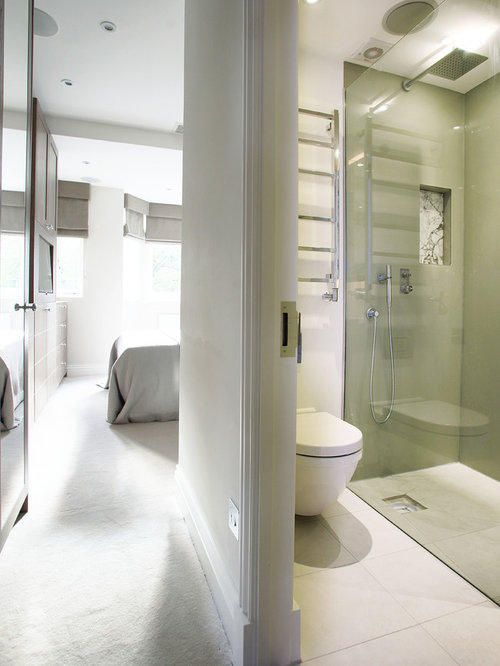 Small ensuite bathroom design ideas renovations photos for Tiny ensuite designs