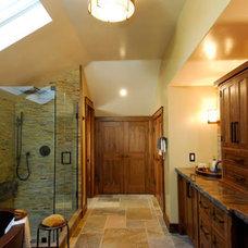 Craftsman Bathroom by Good Home Studio