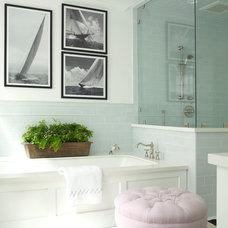 Beach Style Bathroom by Burnham Design