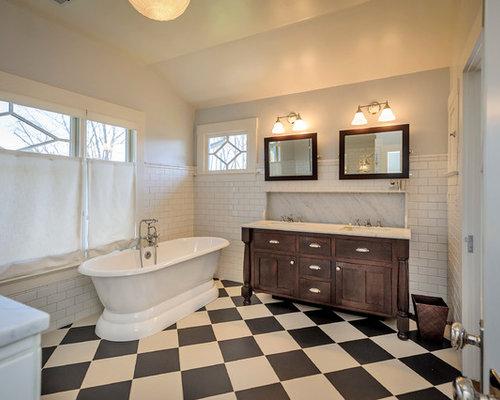 7X7 Craftsman Bathroom Ideas