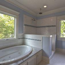 Traditional Bathroom by Bayou Banks Classic Homes
