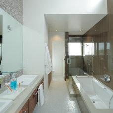 Modern Bathroom by EAG Studio