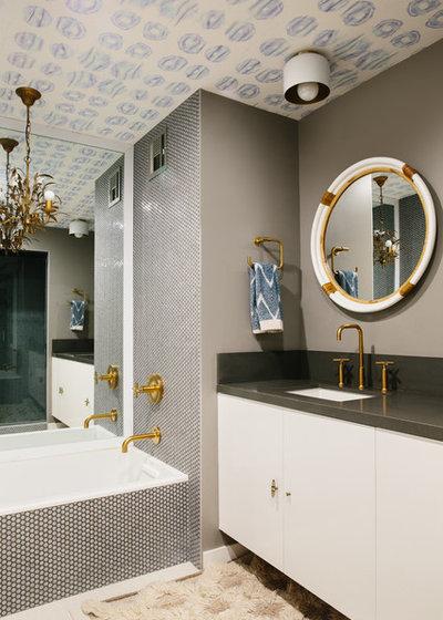 Contemporary Bathroom by Black Lacquer Design