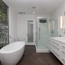 Contemporary Bathroom by Christiano Homes, Inc.