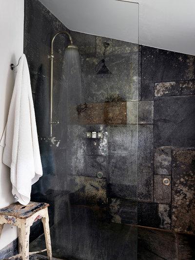 Industrial Bathroom by Marion Lichtig Ltd