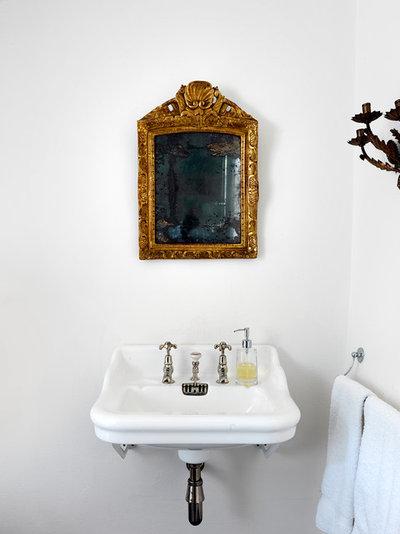 Traditional Bathroom by Marion Lichtig Ltd