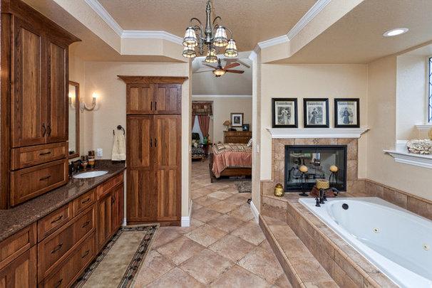 Rustic Bathroom by Floor To Ceiling