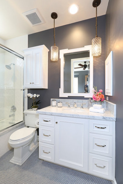 Traditional Bathroom by Blackband Design