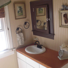 Traditional Bathroom by The Painted Home