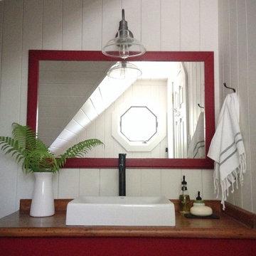 Cottage Boaathouse Bathroom - After