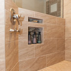 Master Bath Retreat - Traditional - Bathroom - Seattle - by Kayron Brewer, CMKBD / Studio K B