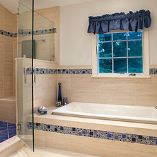Traditional Bathroom by Christine Kelly / Crafted Architecture
