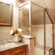 Mediterranean Bathroom by Karr Bick Kitchen and Bath