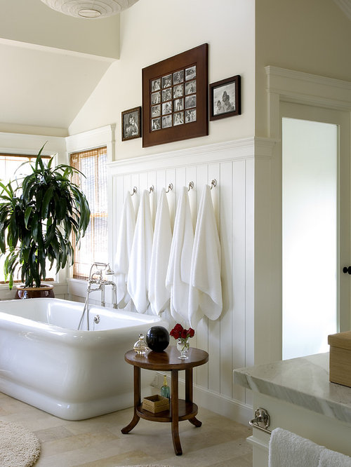 Towel hooks houzz for Ceramic towel hooks for bathrooms