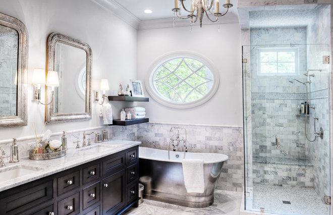 Traditional Bathroom by Gabriel Builders Inc.