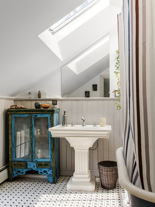 chic style boston bathroom design ideas remodel pictures houzz