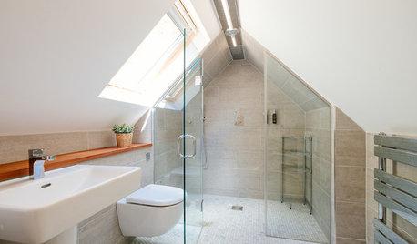 バスルームのタイルは、どこにどれくらい貼る?