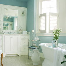 Traditional Bathroom by Carolyn Rand Interior Design, Ltd.