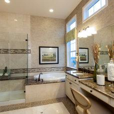 Traditional Bathroom by Godden Sudik Architects Inc