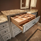 Schrock Vanity Cosmetic Drawer - Traditional - Other - by MasterBrand Cabinets, Inc.