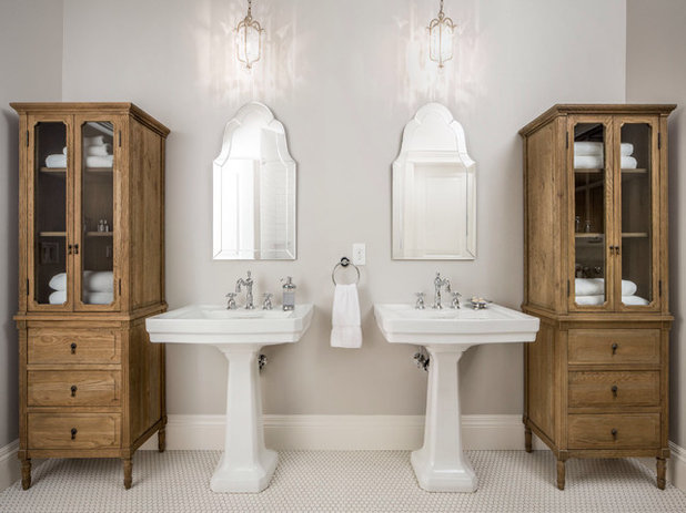 Traditional Bathroom by The Fox Group