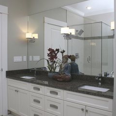 contemporary bathroom by Emily Hagerman Design