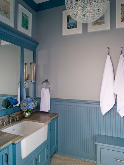 Traditional Bathroom by S. B. Long Interiors