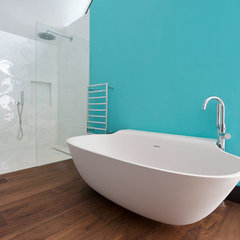 contemporary bathroom by Yorkshire Design Associates