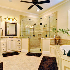 Traditional Bathroom by Braswell Homes Inc