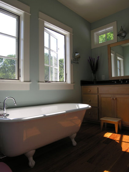 Traditional Bathroom by Burke Coffey Architecture Design Inc.
