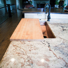 Traditional Kitchen Countertops by Kim Wood Designs