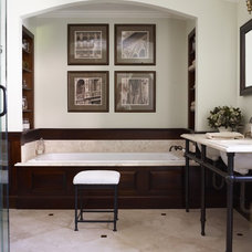 Traditional Bathroom by Kathleen Walsh Interiors, LLC