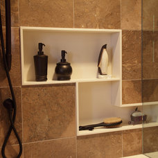 Traditional Bathroom by Sawhill Kitchens