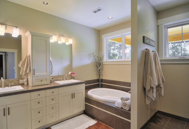 Contemporary Bathroom by Haven Design Workshop