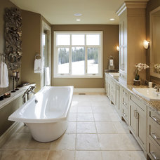 Traditional Bathroom by Maillot Homes