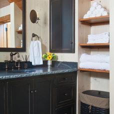 Farmhouse Bathroom by Rill Architects