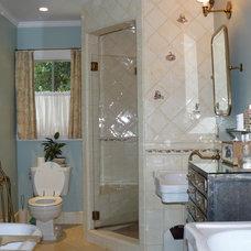 Traditional Bathroom by Howard Bankston & Post