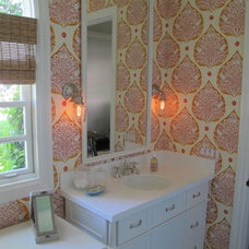 Traditional Bathroom by Amber Interiors