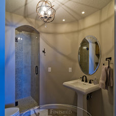 Contemporary Bathroom by Finished Basement Company