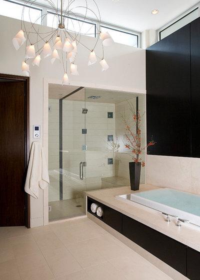 Contemporary Bathroom by FRICANO CONSTRUCTION CO