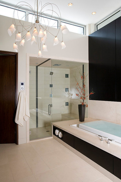 Contemporary Bathroom by FRICANO CONSTRUCTION CO