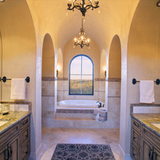 Mediterranean Bathroom by Vanguard Studio Inc.