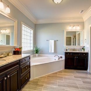 Idéer för att renovera ett stort amerikanskt en-suite badrum dfba0ed2bed55